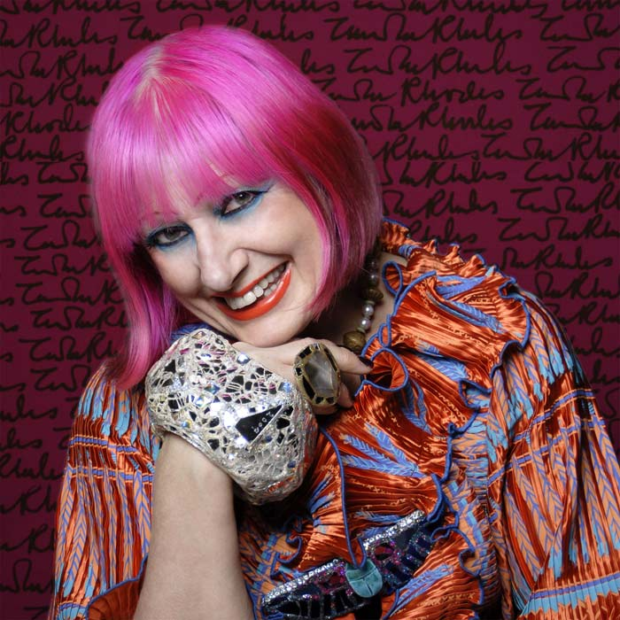 La regina del punk: Zandra Rhodes