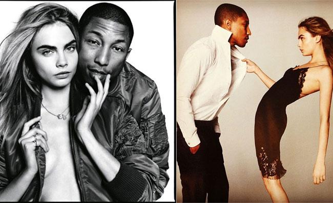 Cara e Pharrell: incontro hot