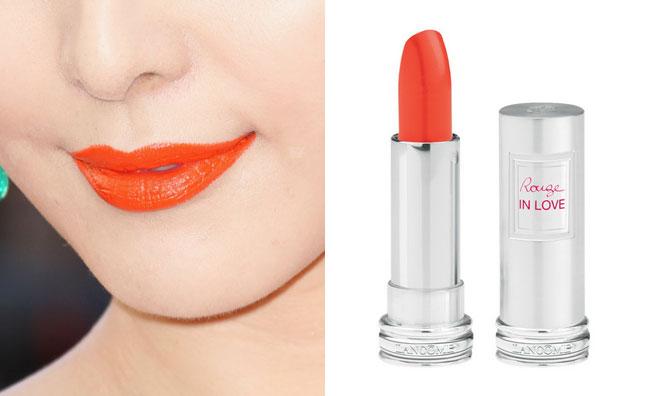 Ad ogni stile il suo rossetto arancione