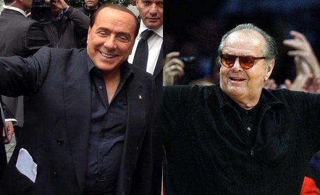 Jack Nicholson nei panni di Berlusconi?