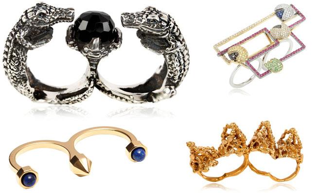Rock e glamour: gli anelli multipli