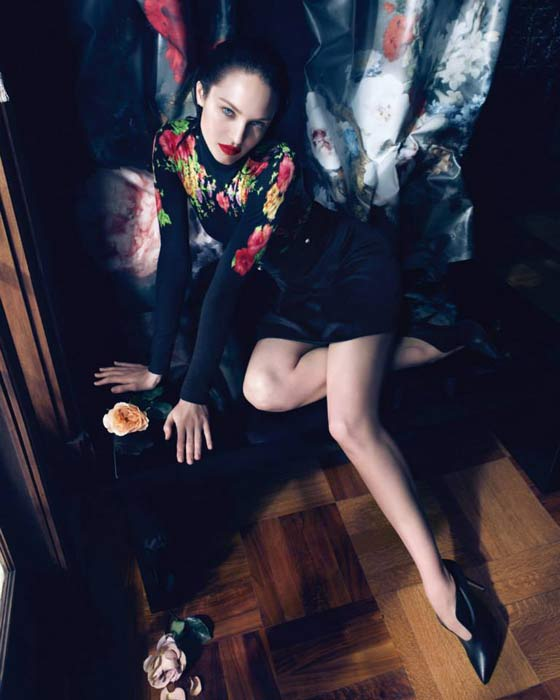 Candice Swanepoel per Blumarine