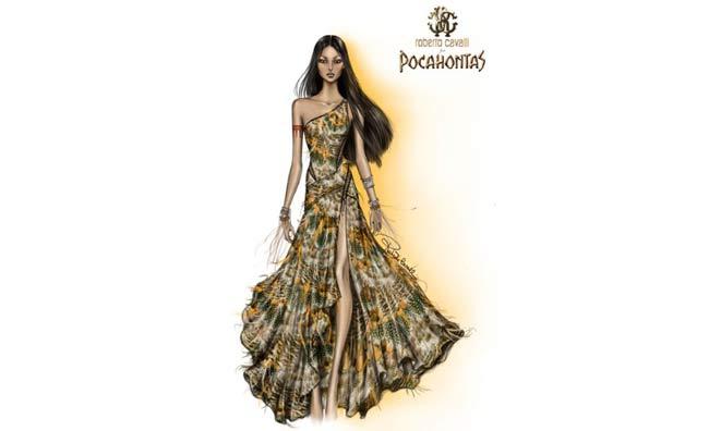 f3a266c30389 Pocahontas e amiche secondo gli stilisti - www.stile.it