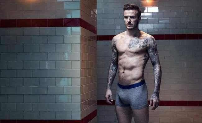 Beckham dà il meglio di sè per H&M