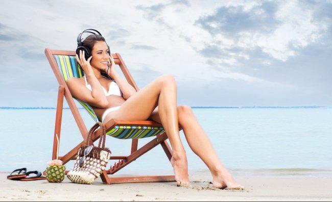 Hi-tech impermeabile per la spiaggia