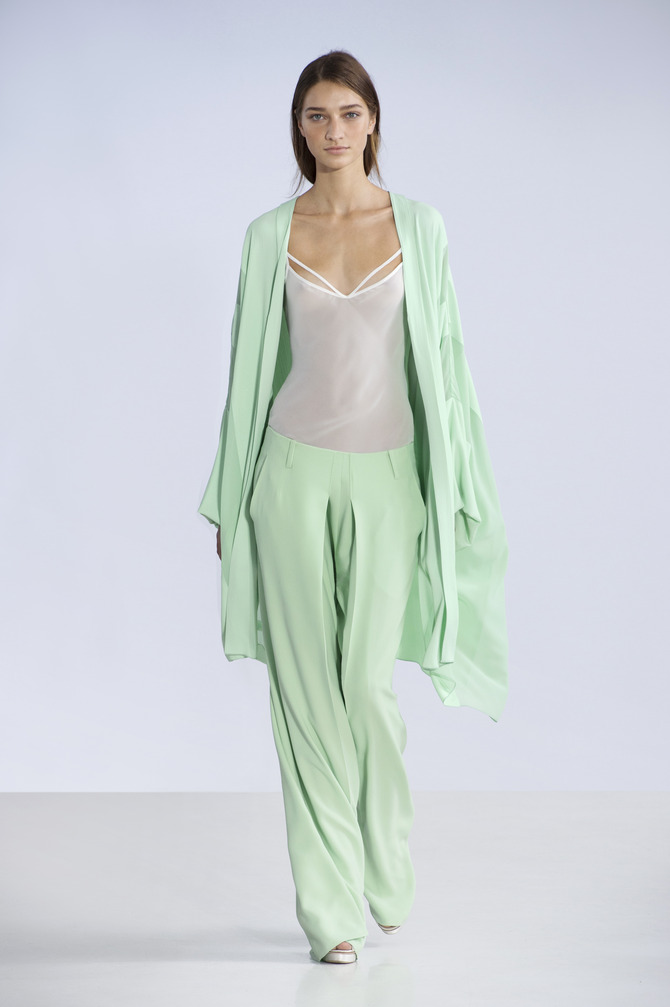 Pantaloni, top e cardigan Philosophy by Alberta Ferretti
