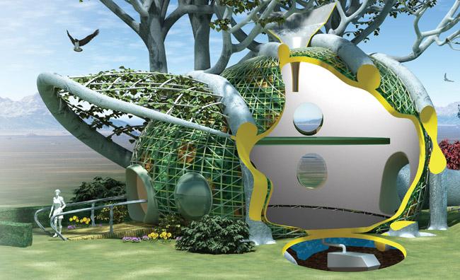 Fab Tree Hab, la casa in simbiosi con gli alberi
