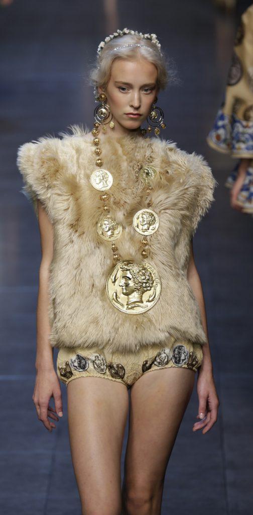 Gilet e shorts Dolce & Gabbana