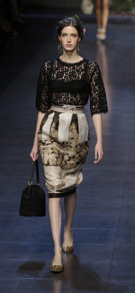 Gonna e top Dolce & Gabbana