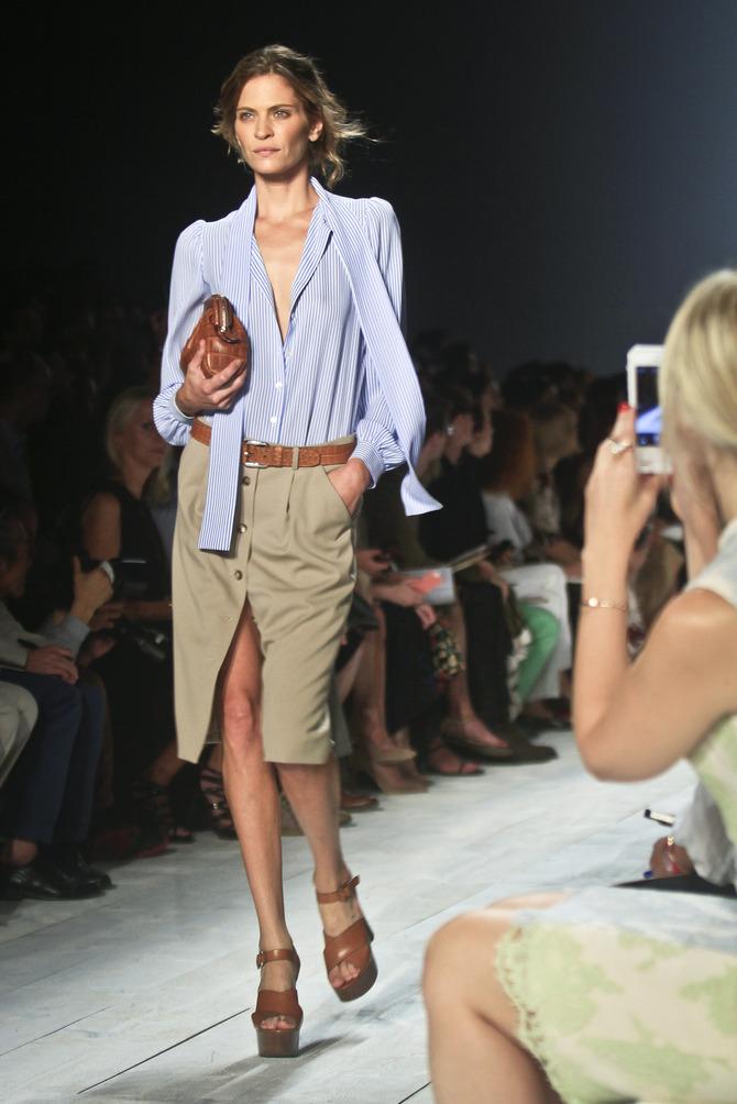 Camicia, giacca e borsa Michael Kors