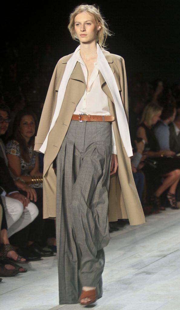 Pantaloni, camicia e coat Michael Kors