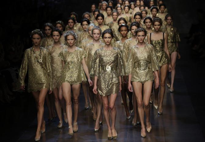 Sfilata Dolce & Gabbana