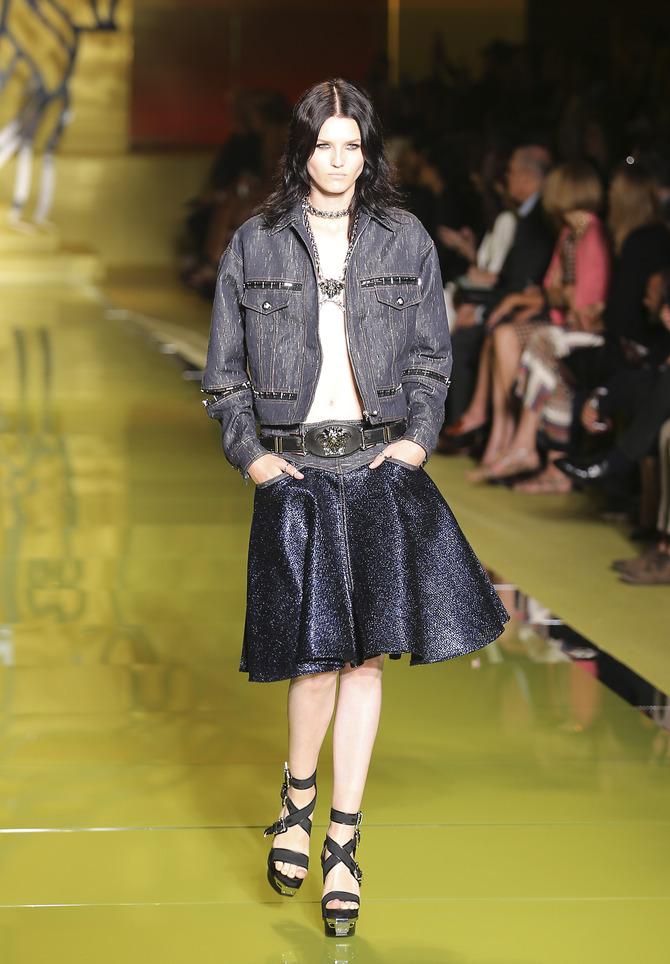 Gonna e giacca Versace