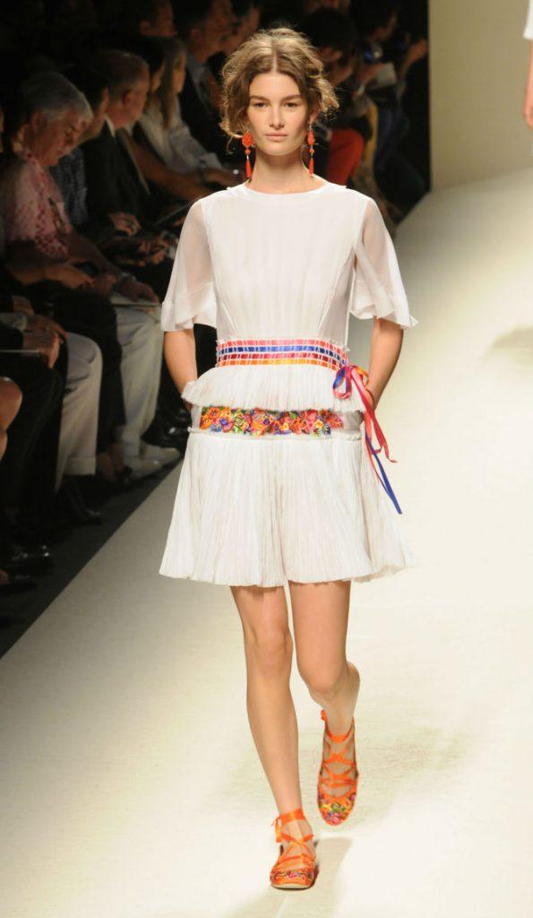 Mini abito Alberta Ferretti
