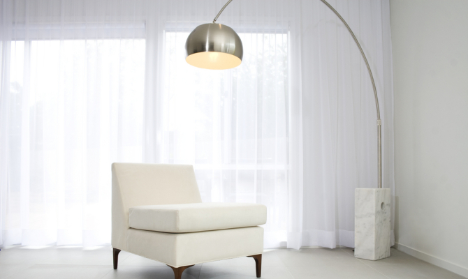 Arco una lampada leggendaria stile