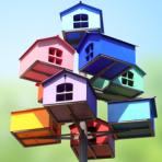 Casa colorata ma mai definitiva