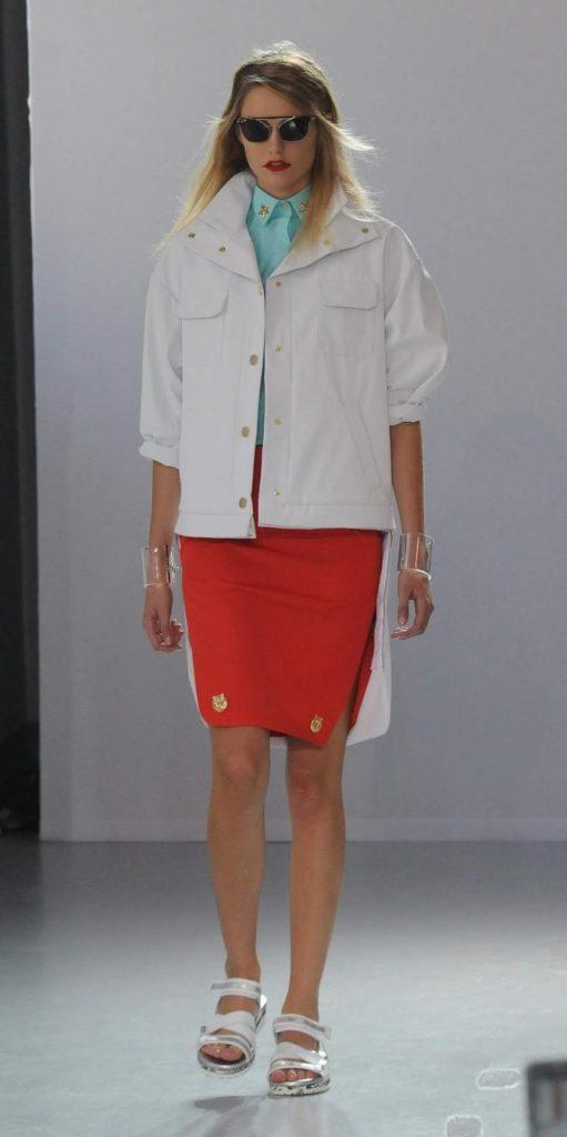 Gonna, giacca e camicia Frankie Morello