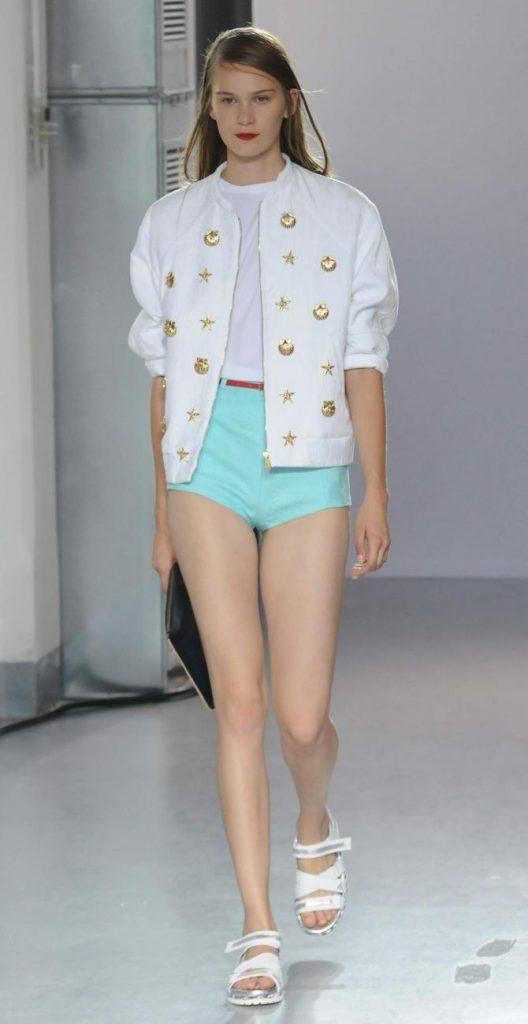 Shorts, giacca e top Frankie Morello