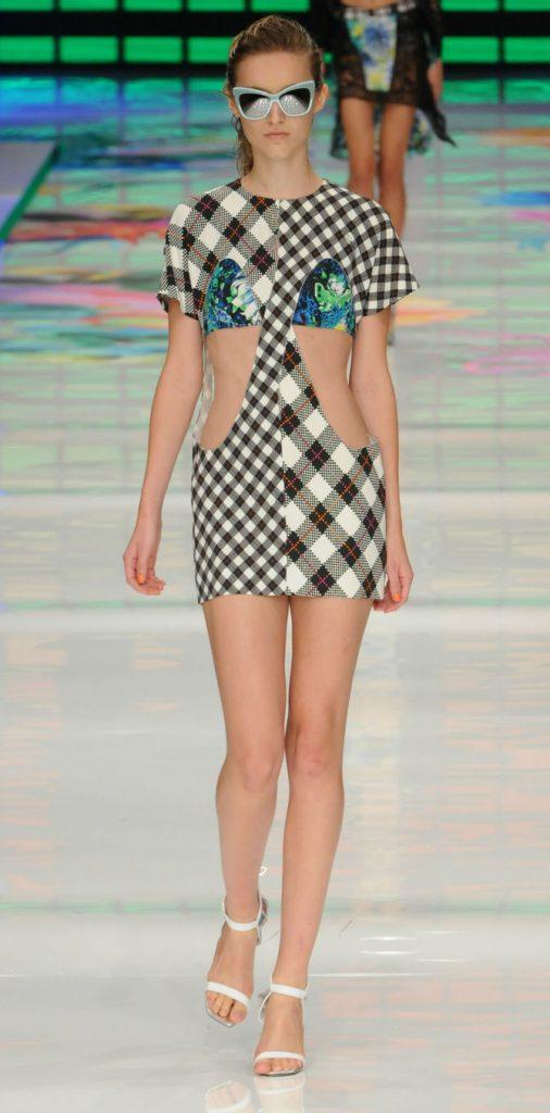 Mini abito con oblò laterali Just Cavalli