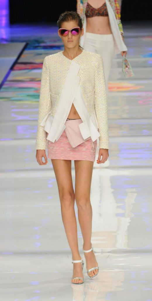 Minigonna rosa Just Cavalli