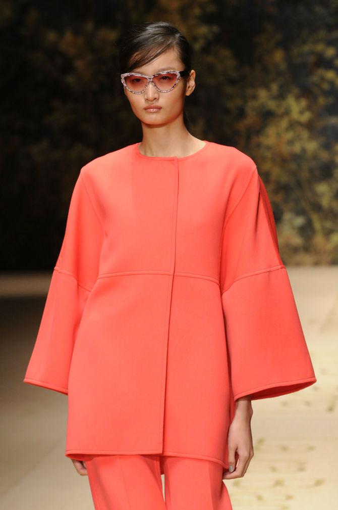 Completo arancione Luara Biagiotti