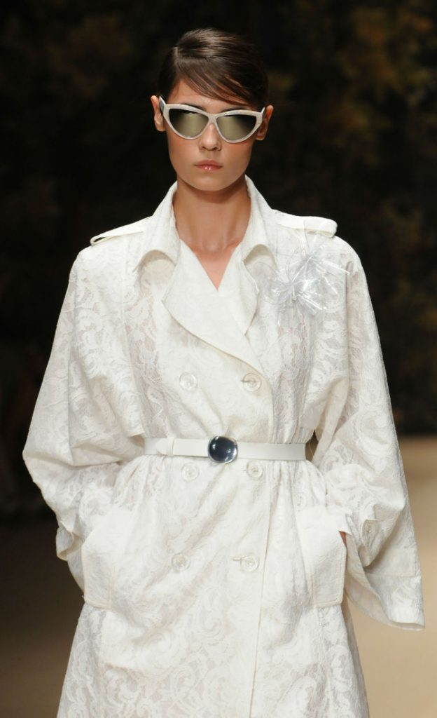Cappotto bianco Laura Biagiotti