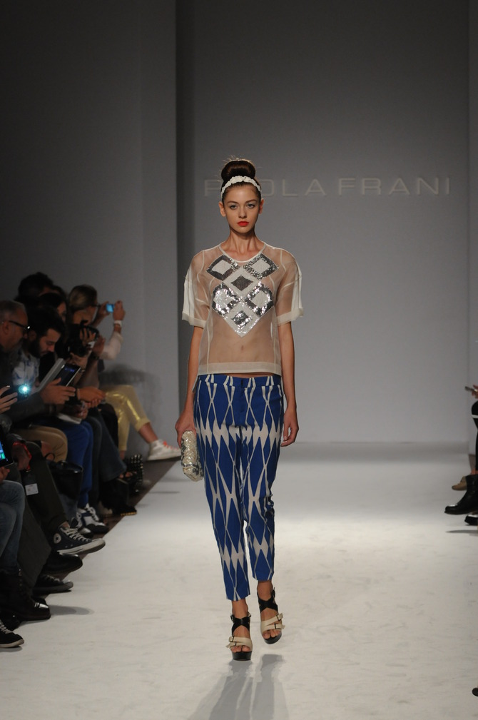 Blusa e pantaloni Paola Frani