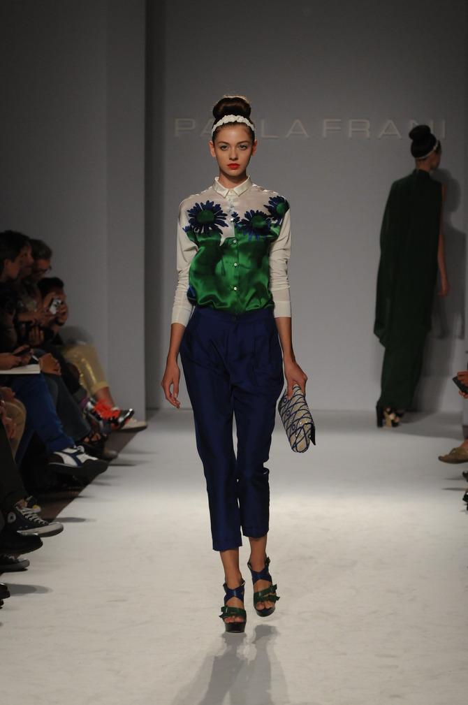 Pantaloni e camicia Paola Frani