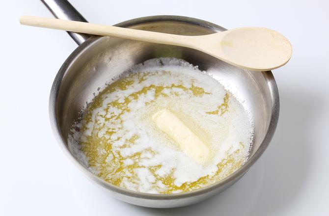 Lo zucchero cristallizzato, burro