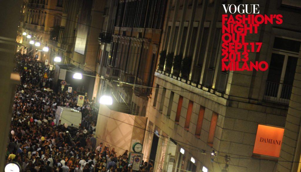 La quinta volta della Vogue Fashion Night Out