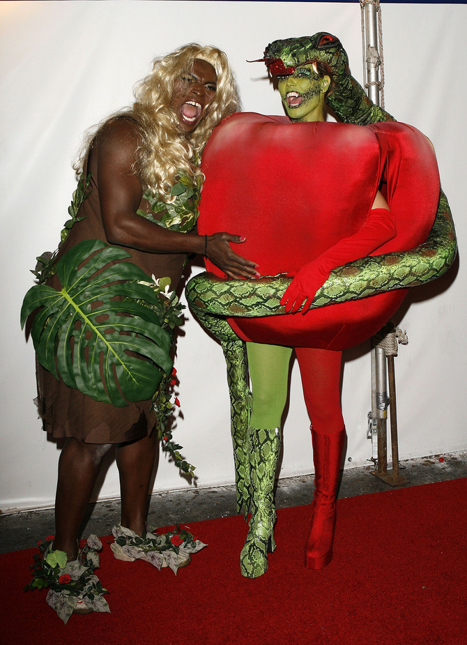 Heidi Klum e Seal travestimento Halloween