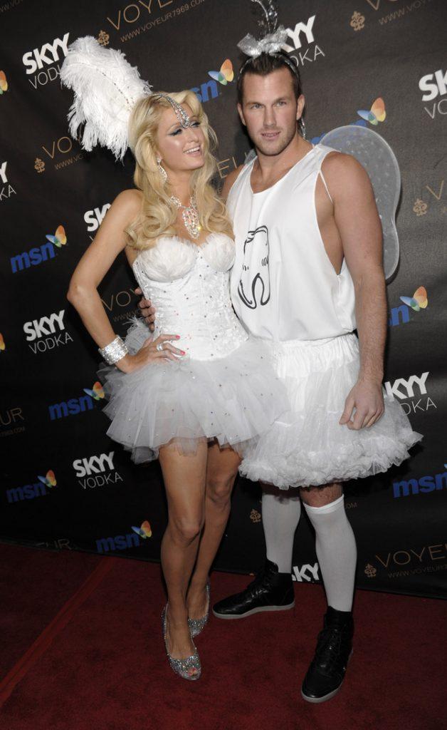 Paris Hilton travestimento Halloween