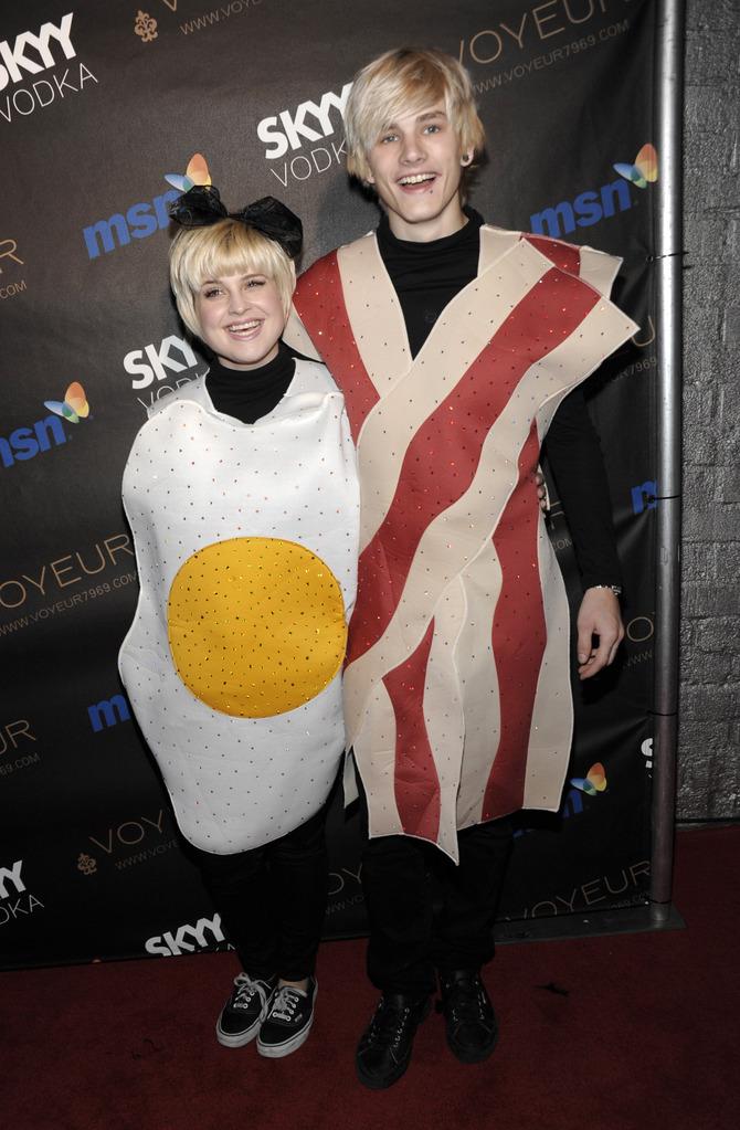 Kelly Osbourne travestimento Halloween