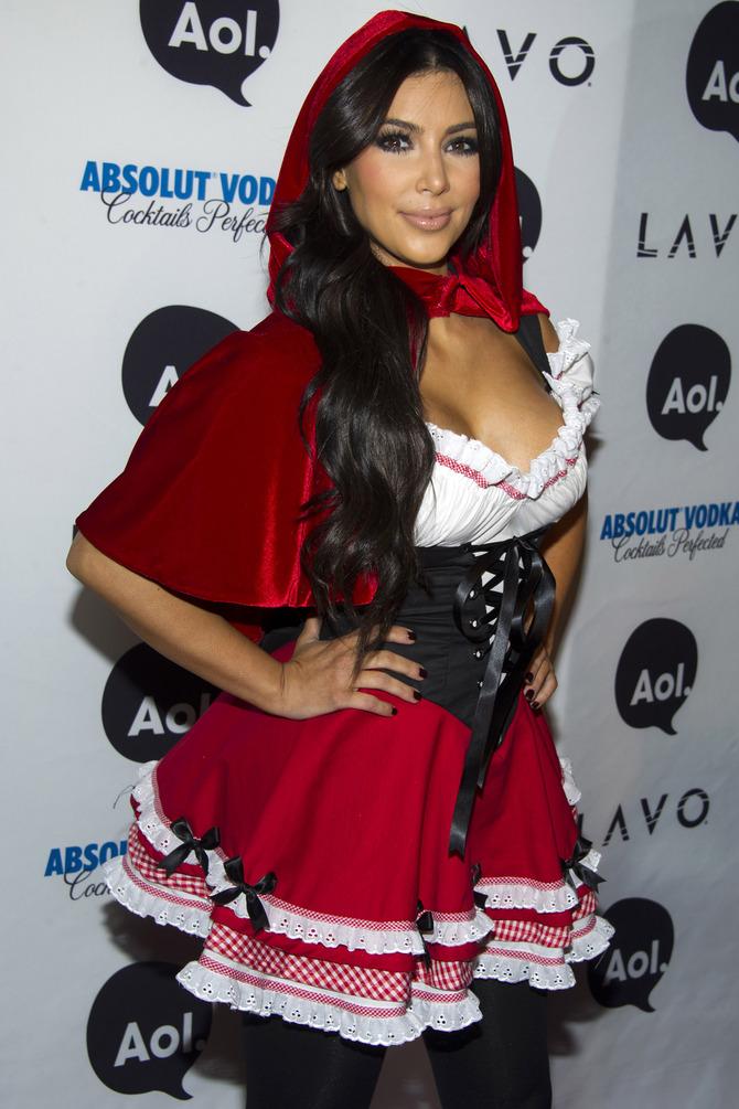 Kim Kardashian travestimento Halloween