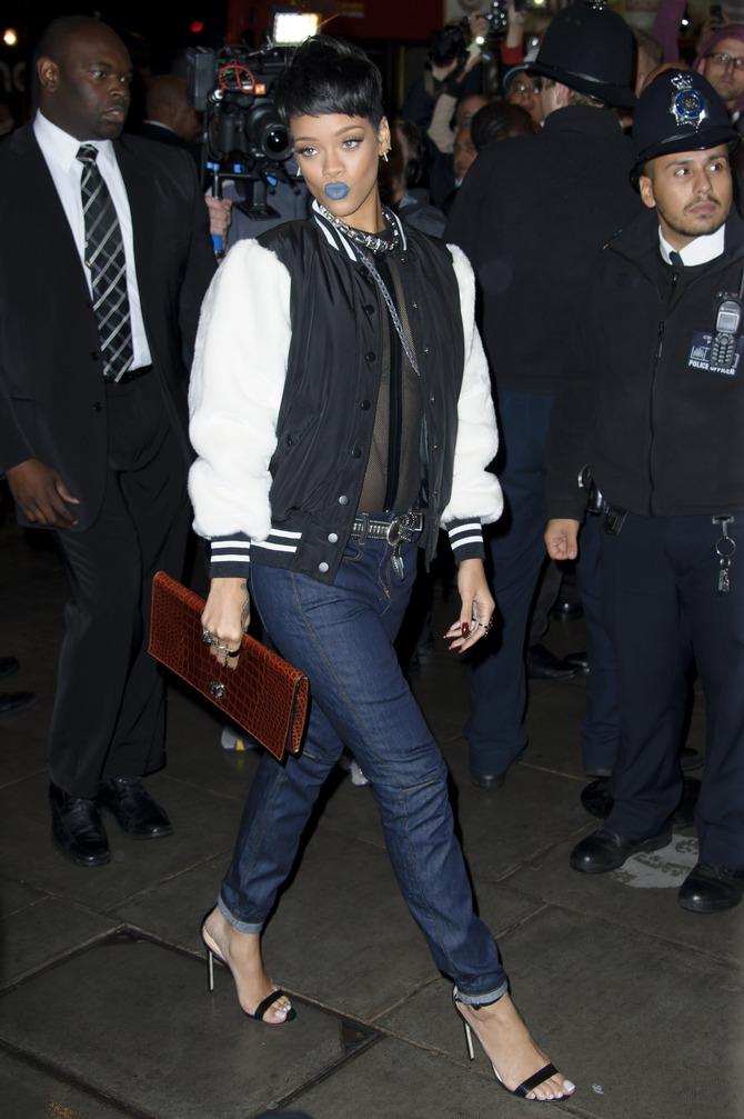 Rihanna al lancio della linea