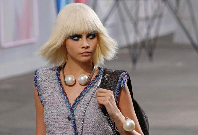 Cara Delevingne per Chanel