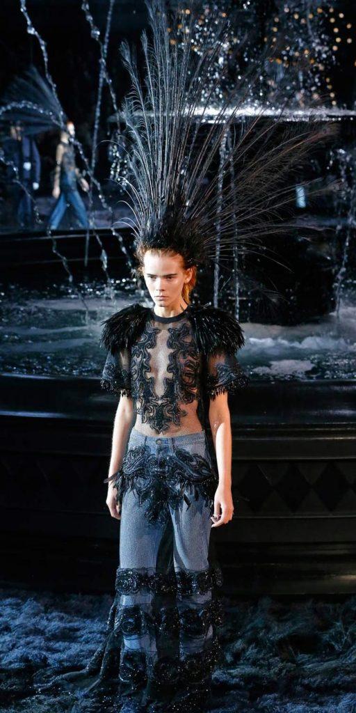 Abito e jeans Louis Vuitton