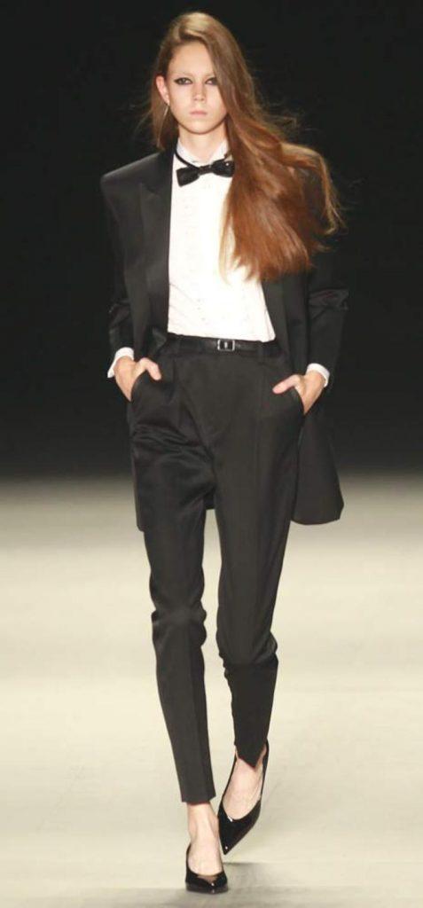 Pantaloni, camicia e giacca Saint Laurent
