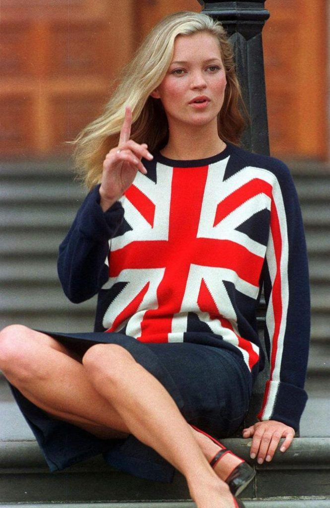 Kate Moss nel 1997
