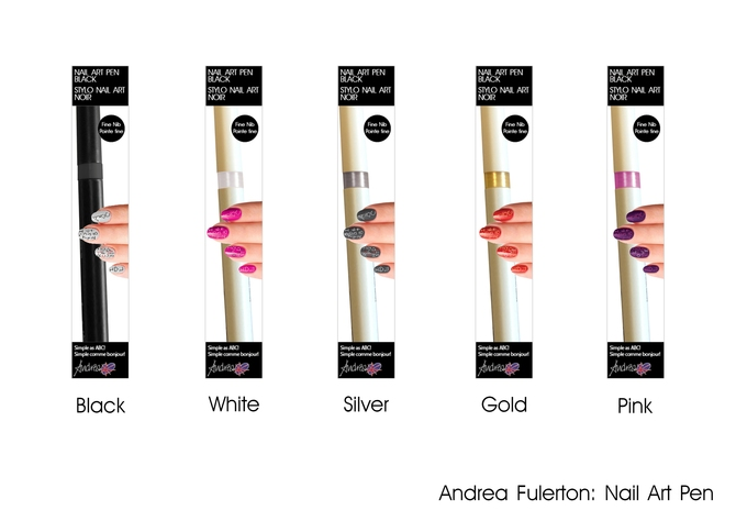 Penne Nail Art per unghie Andrea Furleton