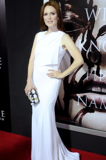 Julianne Moore. La signora in bianco