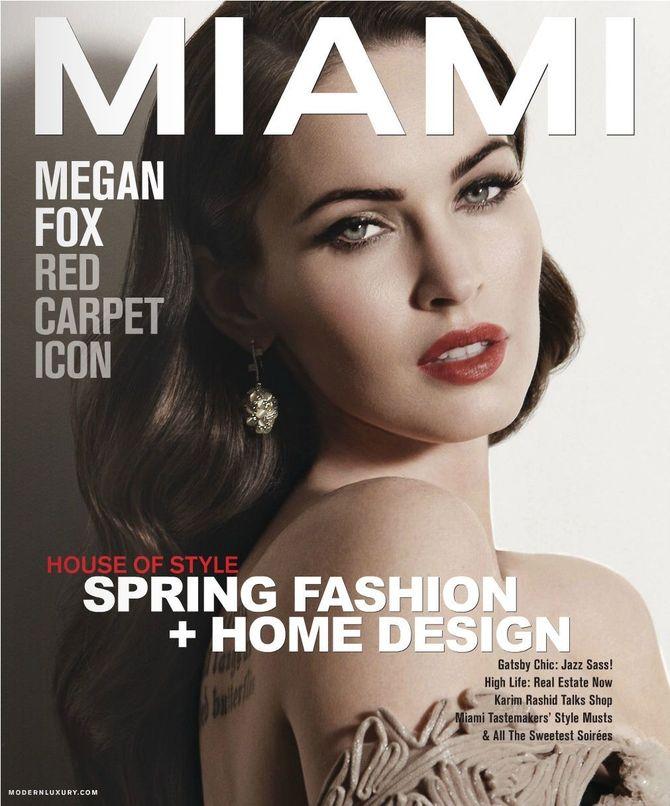 Copertina Miami Magazine