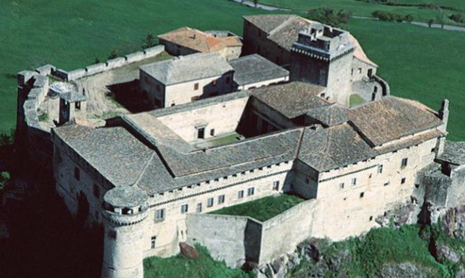castello bardi, misterio, Italia, parma, castello