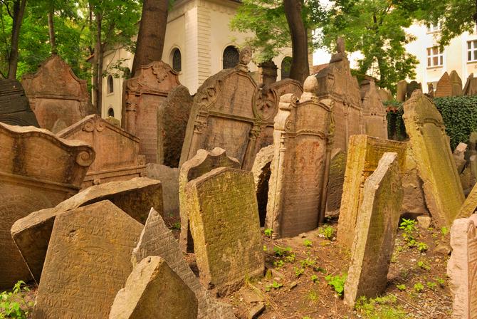 Cimitero ebraico, Praga