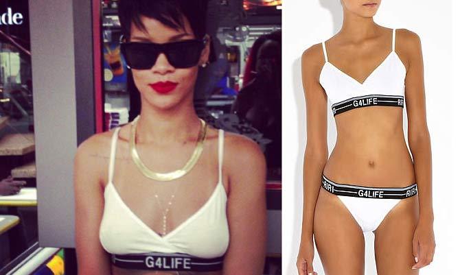 L'intimo firmato Rihanna seduce il mondo