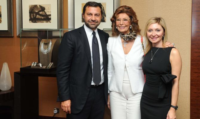 Sophia Loren testimonial della nuova boutique Damiani a Macao