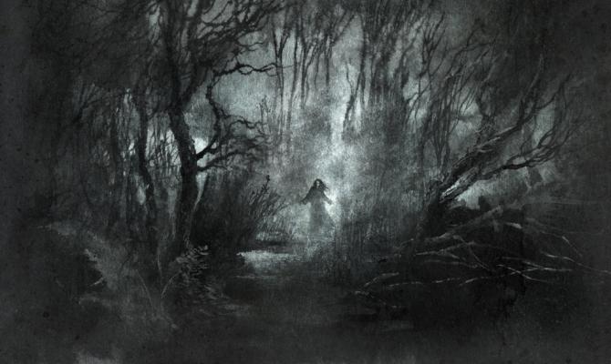 Illustrazione di paura