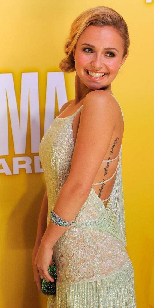 Tatuaggio Hayden Panettiere