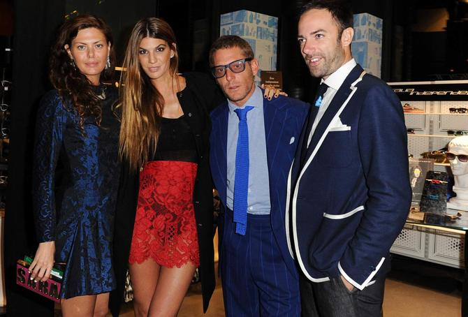 Evento ItaliaIndependent & Karl Lagerfeld