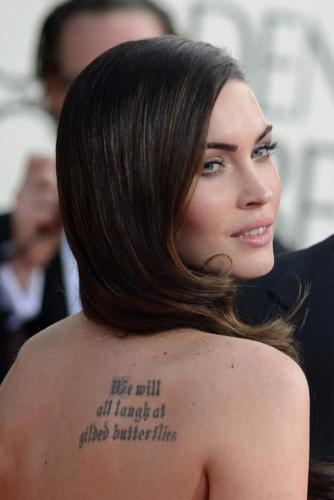 Tatuaggio Magan Fox
